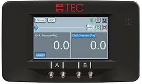 TEC Minneapolis DG-1000 Digital Pressure and Flow Gauge DIG10-KIT-001
