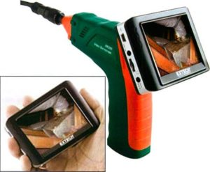Extech BR250 Video Borescope with Wireless Inspection Camera