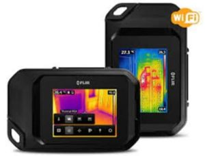FLIR C3- A Powerful Pocket-Sized, Full Featured Infrared Camera Featuring Three Inch Touchscreen and Wi-Fi Connectivity to Tablets & Smartphones!